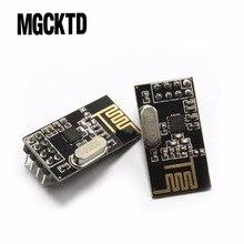 100%新しいnrf24l01 +ワイヤレスデータ伝送モジュール2.4グラム/nrf24l01アップグレードバージョン