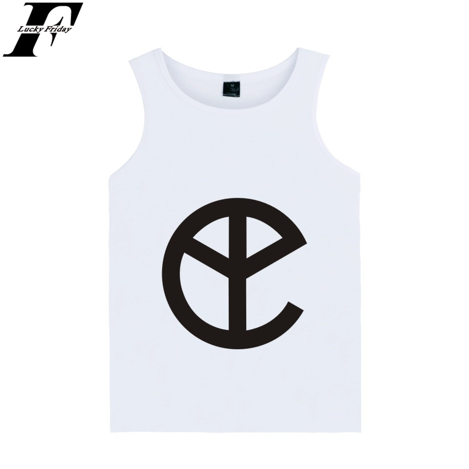 Fashion BTS kpop Yellow claw Summer   Tank     Top   Cotton vest funny Homme hip hop blusa masculina plus size 4xl