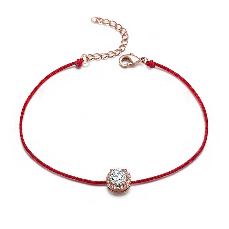 2018 Fashion Handmade Love Lucky Red Rope String Bracelet Bangle Anklet Jewelry
