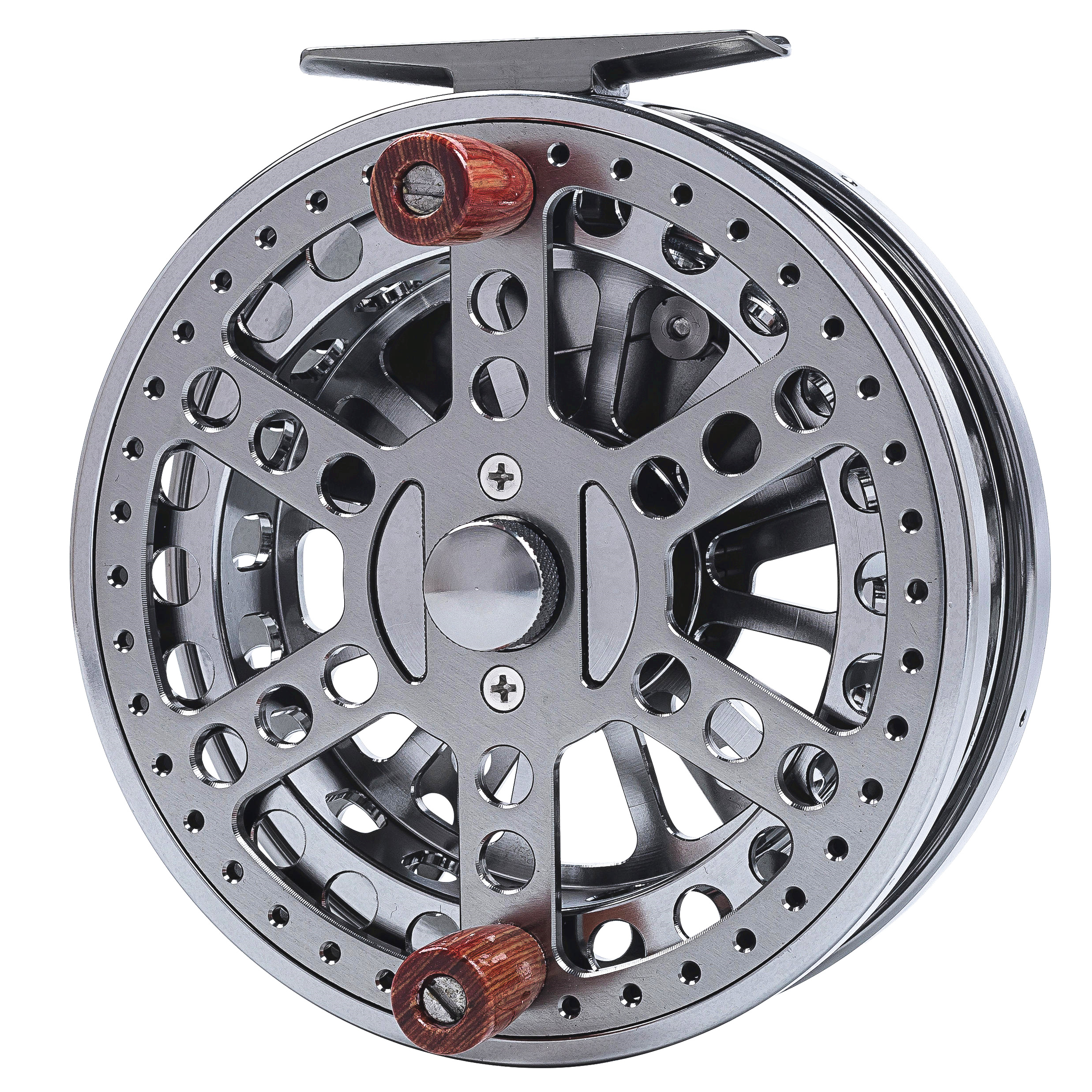 4 3 4 CNC MACHINED ALUMINUM CENTER PIN CENTREPIN FLOATING REEL 120MM 4 3 4 INCH