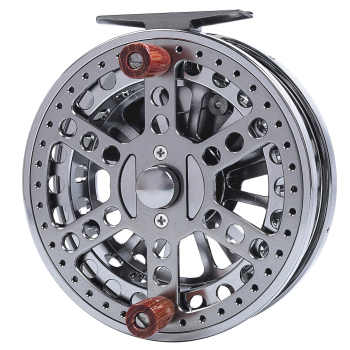 "4 3/4"" CNC MACHINED ALUMINUM CENTER PIN CENTREPIN FLOATING REEL 120MM 4 3/4 INCH STEELHEAD SALMON TROTTING FISHING"