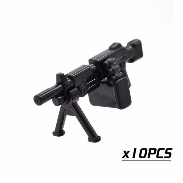 Moc Soldiers Lego M16 War Anime Picturesboss