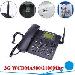 3g wcdma900/2100 mhz 3g telefone de mesa banda dupla fixo sem fio 3g desktop para a família de negócios com bateria recarregável