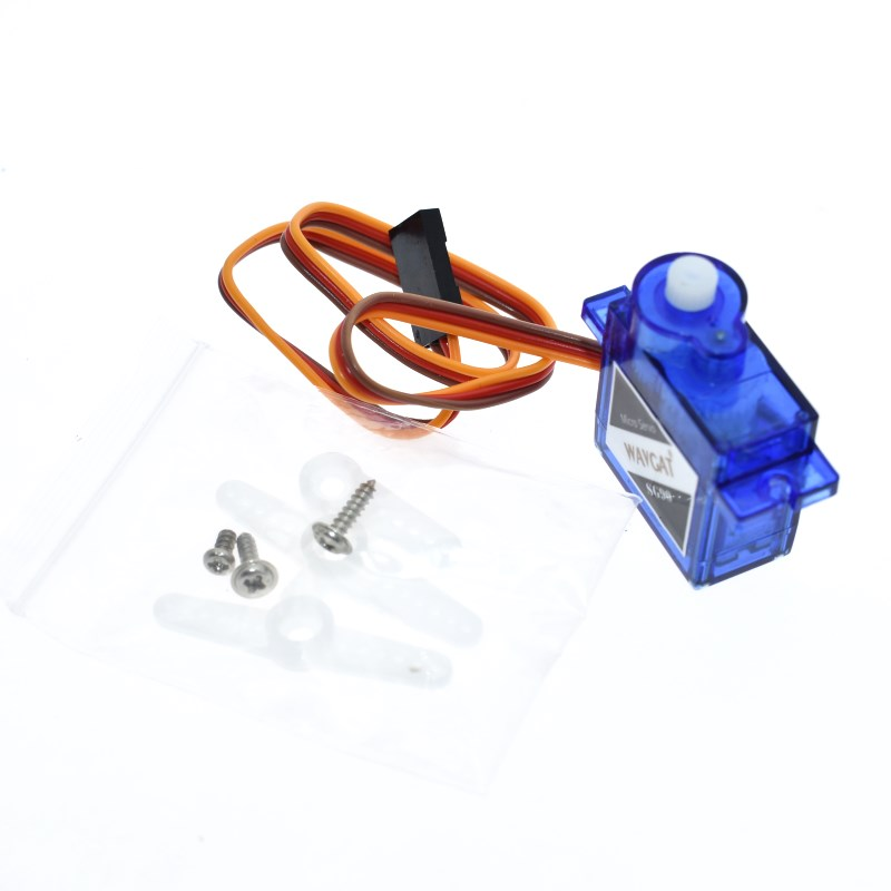 official Smart Electronics Rc Mini Micro 9g 1.6KG Servo SG90 for RC 250 450 Heli