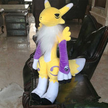 "55 cm Monstro Gigante Artesanal Digitais Digimon Tamers Renamon Suave Plush Doll Toy 20""(China)"