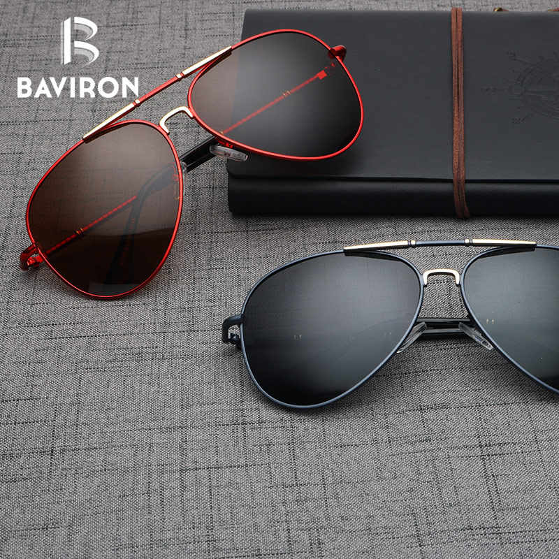 00ef93dc93 ... BAVIRON Pilot Style Sunglasses Men Polarized Lenses Driving Glasses  Pilot Classic Outfits Cool Teardrop Sun Glasses ...