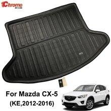 For Mazda Cx 5 Cx5 Ke 2017 2016 Boot Mat Rear Trunk Liner Cargo Floor Tray Carpet Guard Protector Car Accessories