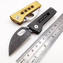 JSSQ Pocket Folding Knife 7Cr18Mov Blade Steel Handle Outdoor Survival Diving Tactical Knives Camping Utility Hunting EDC Tool jssq pocket folding knife damascus blade rosewood handle camping hunting tactical mini knives edc outdoor survival utility tool