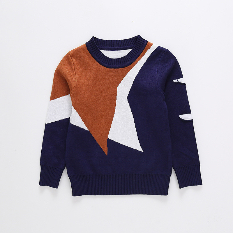 Dulce Amor Boys Sweater 2018 Winter Autumn Cotton Kids Tops Outerwear Children Pullover Knitwear Sweater Boys Clothing back to school outfits boys sweater 2018 new autumn children knitwear o neck boys wool sweater kids fashion outerwear 10 12 year