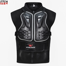 WOSAWE Motorcycle Armor Back Support Chest Protector MTB Skateboard Outdoor Sports Cycling Skiing Protection Jacket