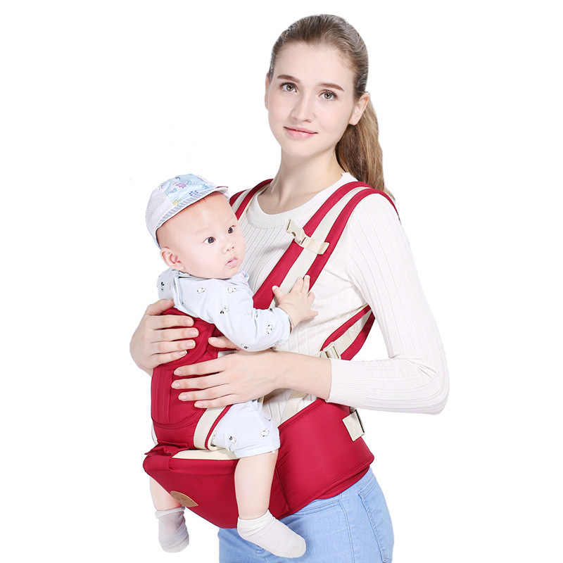 565a101ddd4 ... Ergonomic Baby Carrier Infant 3 In 1 Baby Hipseat Carrier Kangaroo Wrap  for Baby Travel 0 ...