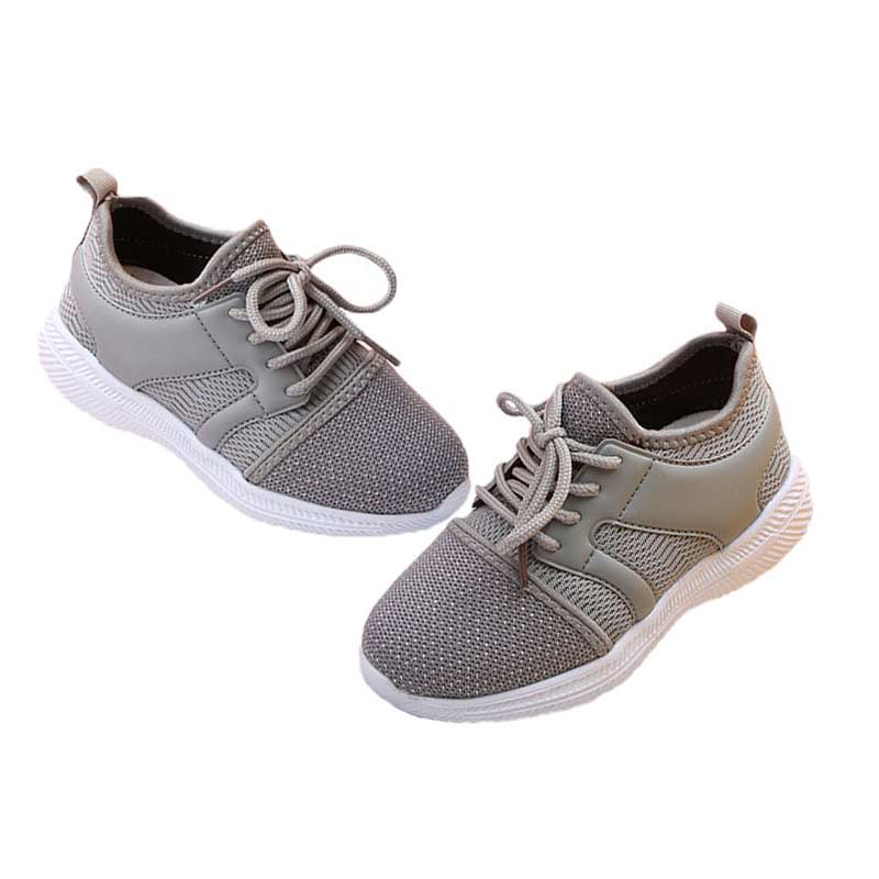 2018 Spring Autumn Children Mesh Casual Shoes Boys Girls Fashion Labeling Sport Shoes Kids Student School Skate Shoes#14
