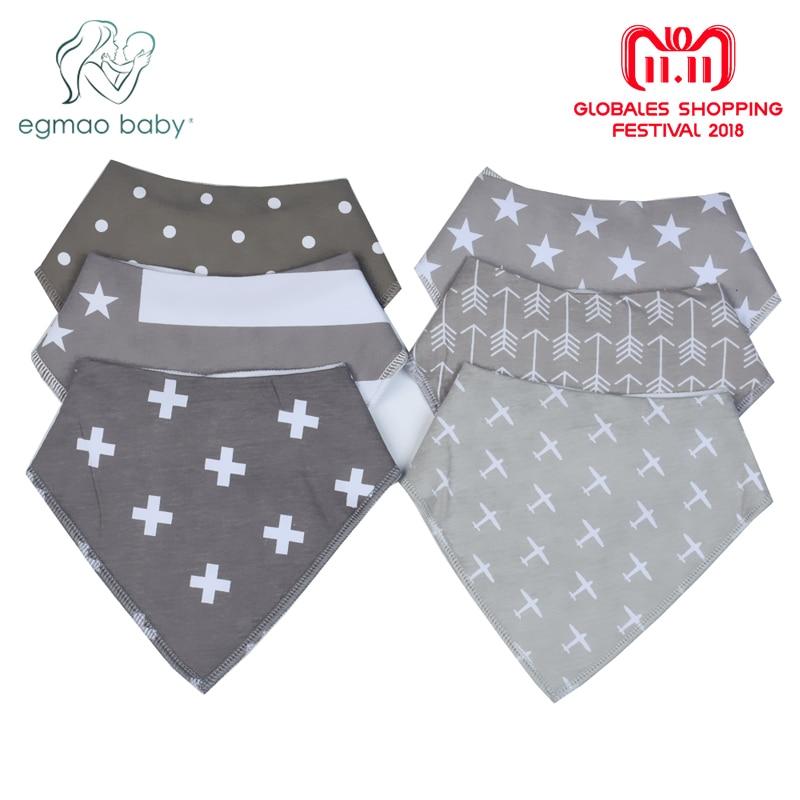 20 Styles Single Baby Bibs Boys Accessories Newborn Girls Burp Bandana Cotton Soft Toddler Triangle Scarf Infant Saliva Towel saliva baby 15g 20