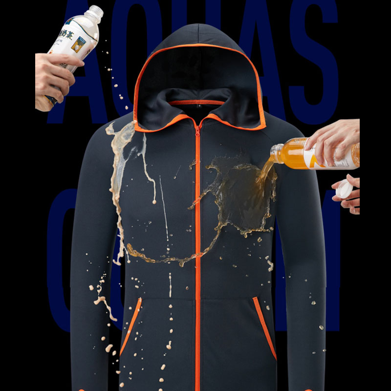 Fishing Clothes Suit New Nano Tech Waterproof Anti-fouling Breathable Men Tshirt Casual Clothing Outdoor Camping Hooded Jackets