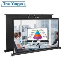 TouYinger 50 cali 16:9 TSH50 ekran stołowy/Mico mini projektor led, przenośny ekran łatwy do przenoszenia dla prywatnego kina, spotkanie