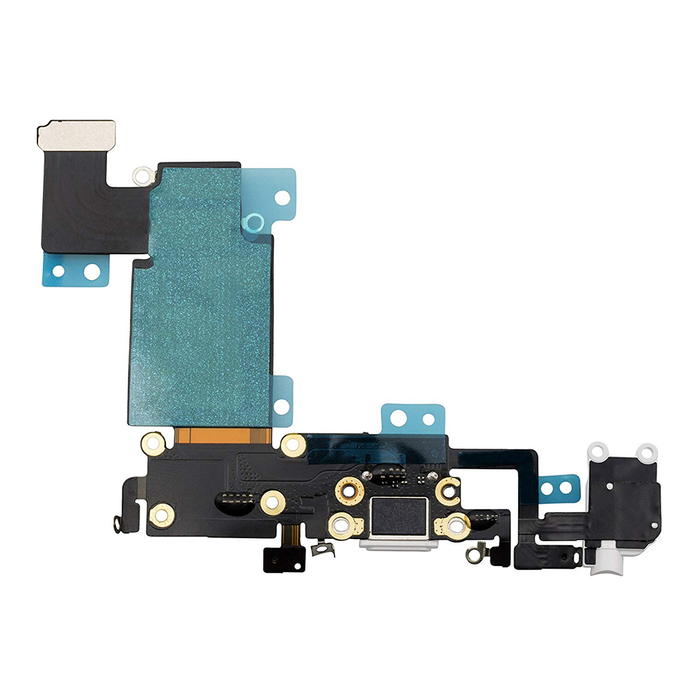 1pcs for <font><b>iPhone</b></font> <font><b>6S</b></font> <font><b>6S</b></font> Plus USB Charging Port Dock <font><b>Connector</b></font> with Charger Port with Headphone Jack and Mic Replacement Part image