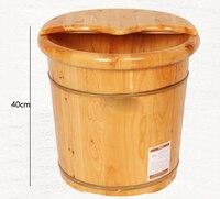 Высокое качество кедра для ног твердой древесины ног ведро бытовой массаж ног древесины повышение ноги педикюр