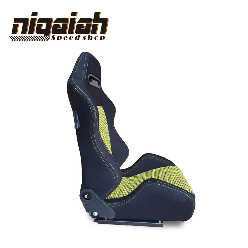 2PCS/LOT OEM SPD Adjustable & Reclinable Seat Red/Blue/Black/Yellow Suede Drift Sport Racing Car Seat