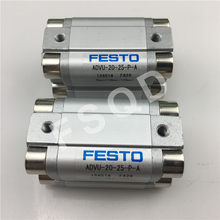 ADVU-20-5/10-P-A ADVU-20-15-P-A ADVU-20-20-P-A ADVU-20-25-P-A FESTO Compact cylinders pneumatic components ADVU series(China)