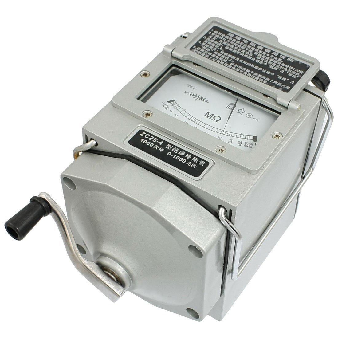 Insulation Megohm Tester Resistance Meter Megohmmeter ZC25-4