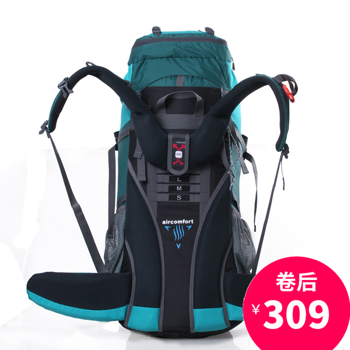 70L  Professional Mountaineering Bag Outdoor Travel Backpack Men And Women Waterproof Hiking Backpack 80L A4840 75l external frame support outdoor backpack mountaineering bag backpack men and women travel backpack a4809