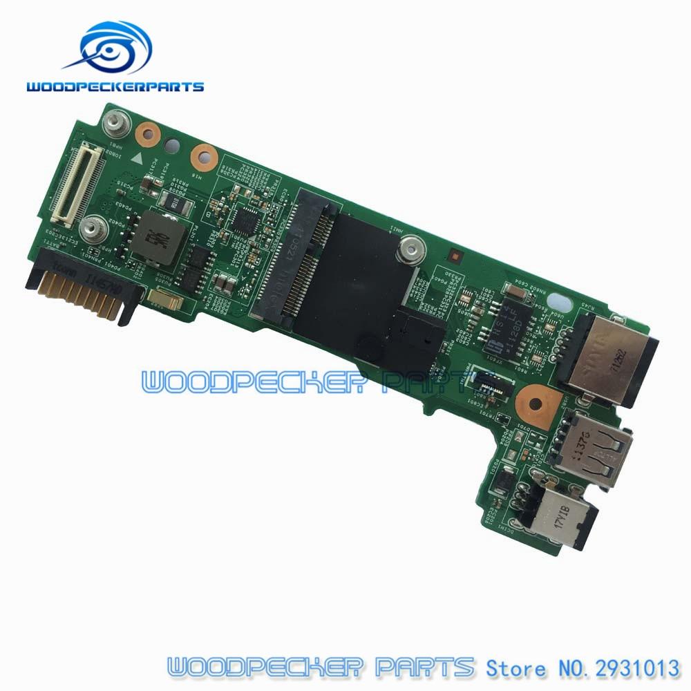 DC-in Power Jack USB IO Board for Dell Inspiron 14 N4030 N4020 48.4EK13.011 09783-1