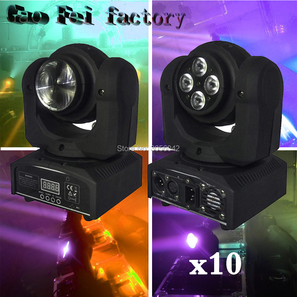 10pcs/lot 2 side 4x15W small rgbw wash light/double face professional lighting 10pcs lot as11d sot23 page 2