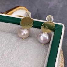 Fashion Wild Natural Pearl Stud Earrings Personalized Jewelry Temperament 2019 New Trendy Boucle Doreille Femme Hot Sale FL4299