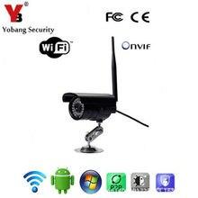 Yobangsecurity WiFi дома Наблюдения Беспроводной внешний ИК-пуля камеры безопасности ночного видения Всепогодный 30 м ИК расстояние
