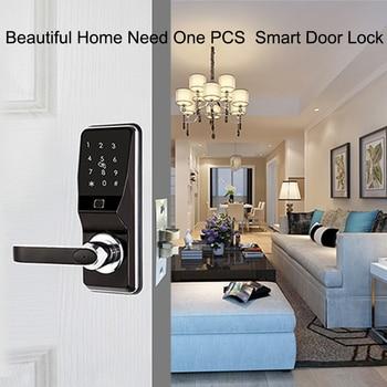 Eseye Smart Door lock  Fingerprint Door Lock Keyless Intelligent Electronic Locks Smart Fingerprint Digital Door Lock Home