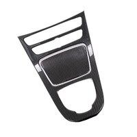 Carbon Fiber Console Gear Panel Frame Cover Trim Sticker For Mercedes Benz E Class W213 E200