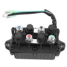 Motor de barco de ajuste de relé para Yamaha 30-90HP 6H1-81950-00-00 Motor 3 Pin 12 V +-20% 120A de aluminio a prueba de agua bronce + plástico