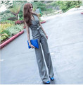 New 2016 Jumpsuit Women Aristocratic Temperament Show Thin Jumpsuits Rompers Wide Leg Rompers Womens Jumpsuit Bodysuit G0165