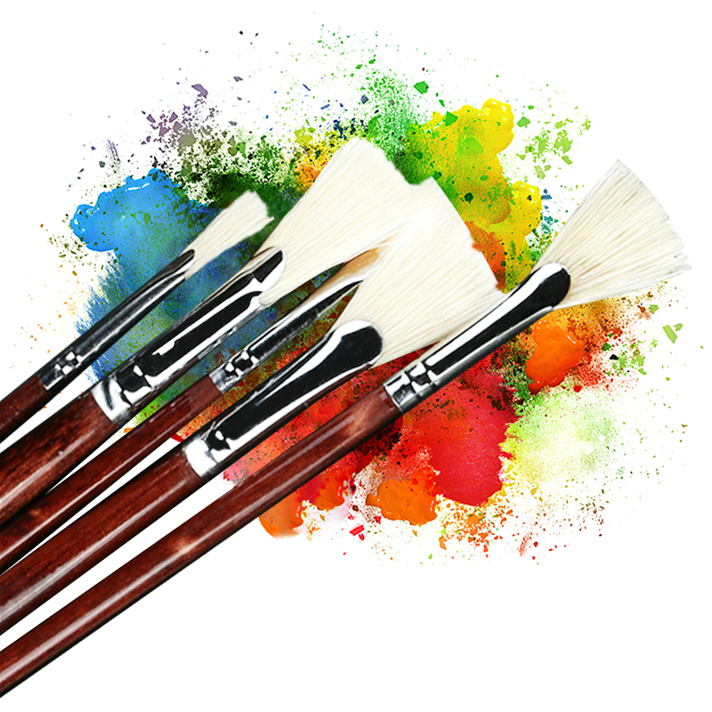 High Quality Painting Brush Pen Watercolor Brush Set Fish Tail Shape 13pcs Landscape Painting Brushes Art Oil Painting Pen Brush watercolor by wu xingliang landscape and still life painting of qingdao