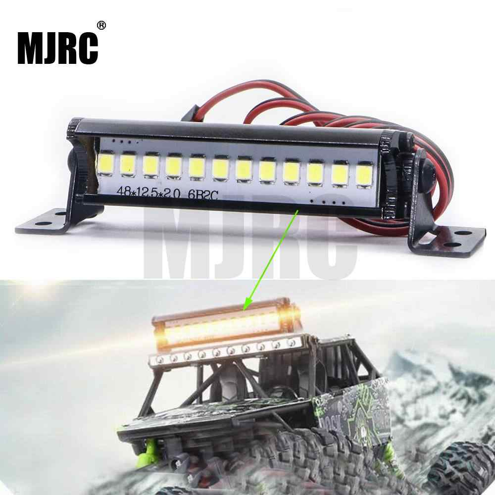 50mm RC LED Barra de luz LED lámpara 1:10 RC parte de coche para TRX4 90046 90048 SCX10 luces LED brillantes accesorio fresco para modelo de coche 2019