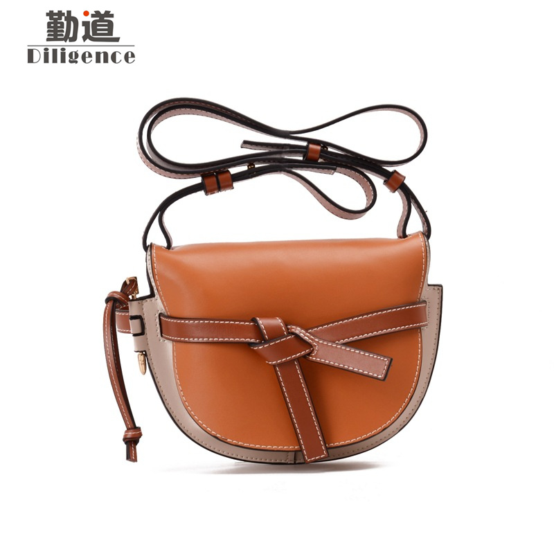Genuine Leather Handbags For Women 2018 Fashion Luxury Famous Brands Designer Style Shoulder Bags Ladies Bow Crossbody BagGenuine Leather Handbags For Women 2018 Fashion Luxury Famous Brands Designer Style Shoulder Bags Ladies Bow Crossbody Bag