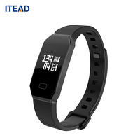 E02 Smart Bracelet Waterproof Bluetooth Health Tracker Heart Rate Motion Sleep Monitor Smart Band Wristband IOS