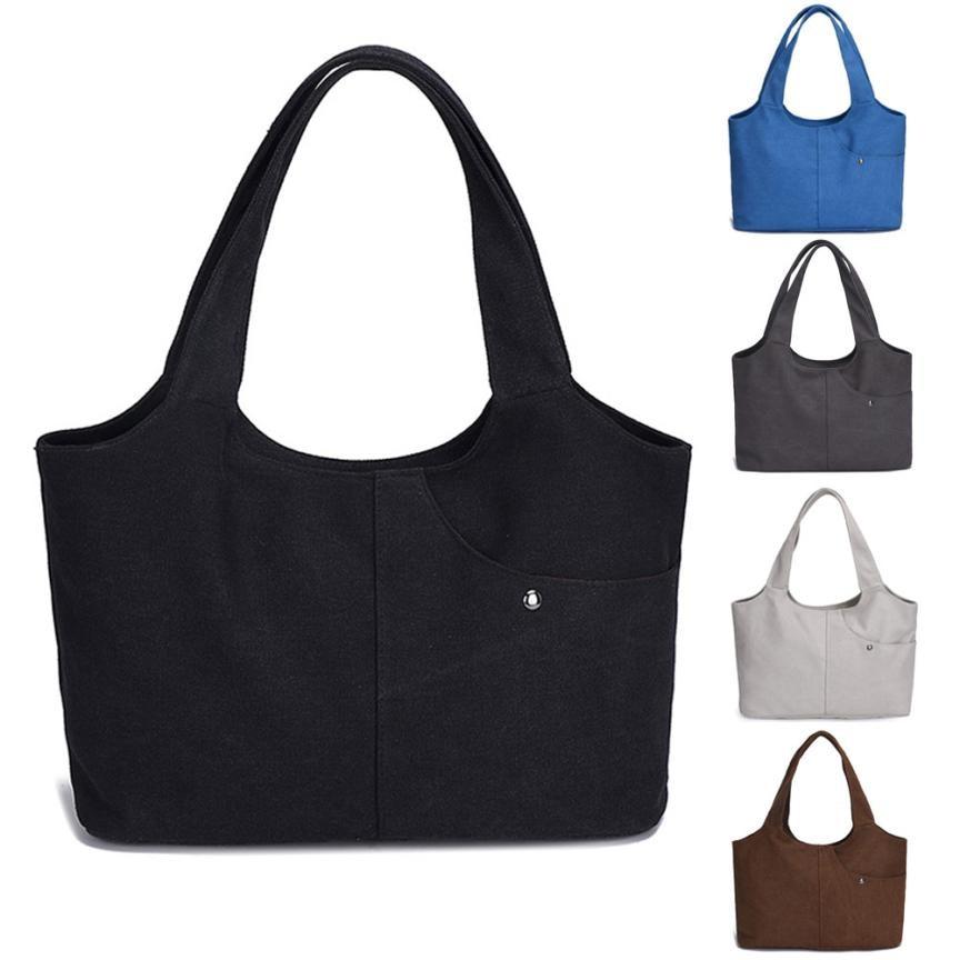 black Femininas Sacs Fourre Toile Décontracté Beige Bandoulière Dropship  Femmes blue Handbag tout Handbag Main Handbag ... 0ac45877ec4