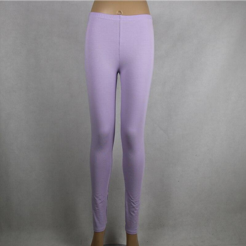 Shikoroleva 2019 Solid Color Purple Leggings Xs- 7xl Women Modal Cotton Elastic Skinny Jeggings Pants Red Girl 6XL 5XL Leg Pants