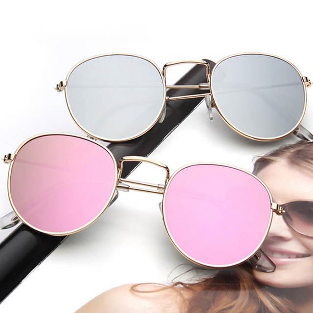 5782f841b5e7b placeholder CANCHANGE 2018 Retro Rodada óculos de Sol Das Mulheres Designer  De Marca Óculos de Sol Para