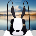Lovely Rabbit Ears Rivet Backpack New 2017 Hot Selling College Students Wind Female Bag Women Schoolbag Men Travel Shoulder Bag