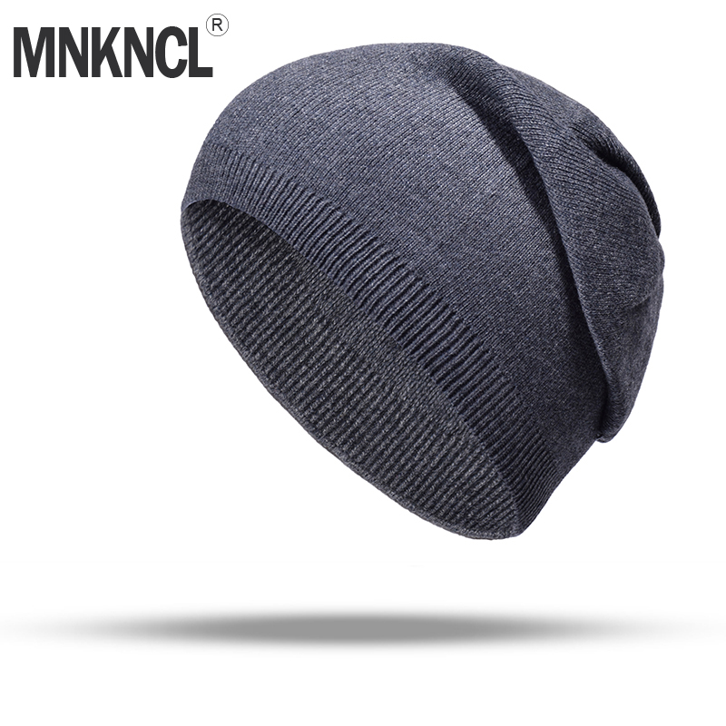 9c6f66ac3e5 MNKNCL Women s Winter Hat Knitted Wool Beanies Fashion Skullies Beanies  Casual Outdoor Ski Caps Thick Warm Hats for Women