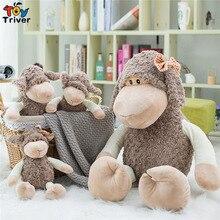 купить Plush Sheep Toy Stuffed Cartoon Lamb Dolls Baby Kids Children Kawaii Birthday Christmas Gift Toys Home Shop Decoration Triver по цене 585.53 рублей