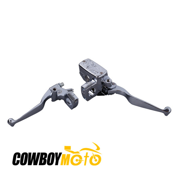 ФОТО Motorcycle CNC Brake Clutch Master Reservoir Lever for Honda VTX1300 CMX250 VTX1800 2002 - 2010 03 04 05 06 07 08 09