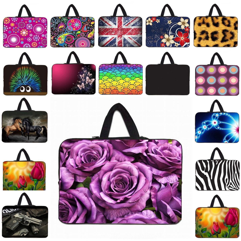 Laptop Bag 15.6 14.4 15.4 16 17 13.3 12.1 11.6 10 Mini PC Tablet 10.1 Inner Shell Case Bags + Hide Handle Nylon Notebook Handbag