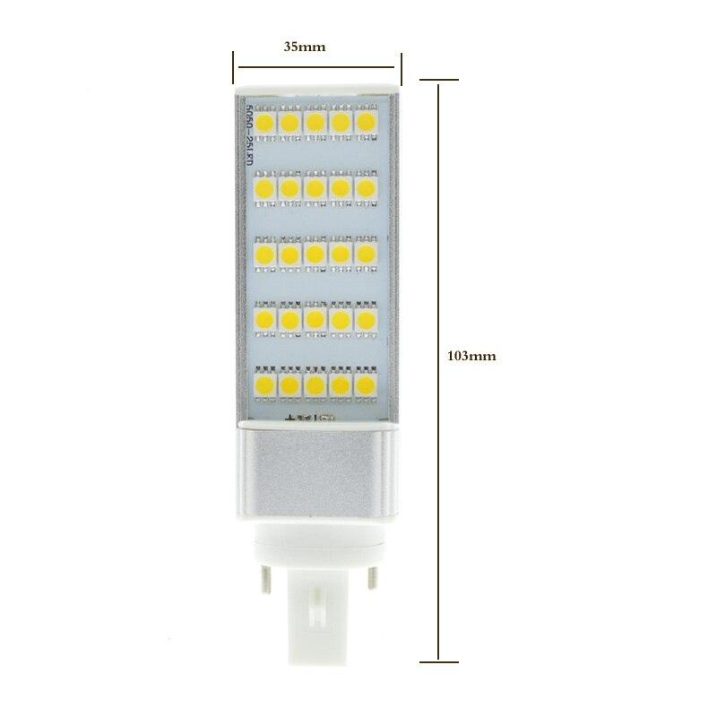 Lampadine Led G24.G24d 3 G24 Led Lampadas Ac85 265v Energy Saving Lamp Bombillas Ampul Bulb Lampadine Fluorescent Lamp Downlight Bulb