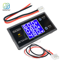 DC 100V 10A 50V 5A LCD Display Digital Voltmeter Ammeter Wattmeter Voltage Current Power Meter Volt Detector Tester 12V 24V 36V