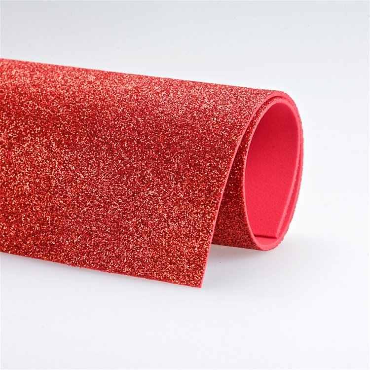 50*50 cm 10 Uds 2mm de espesor brillante no adhesivo papel KraFt foamiran para bordado