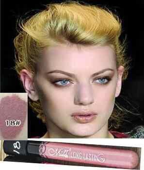 Yeni Mat Ruj Marka Makyaj Labiales 38 Renk Maquiagem Uzun Ömürlü Batom Su Geçirmez Maquillaje Velet Pintalabios lip123