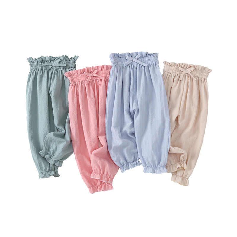 Pantalones Casuales De Verano Para Bebe Ropa Para Ninos Pantalones De Mosquito Para Mujer Ropa De Cama Y Algodon Para Ninos Pantalones Aliexpress